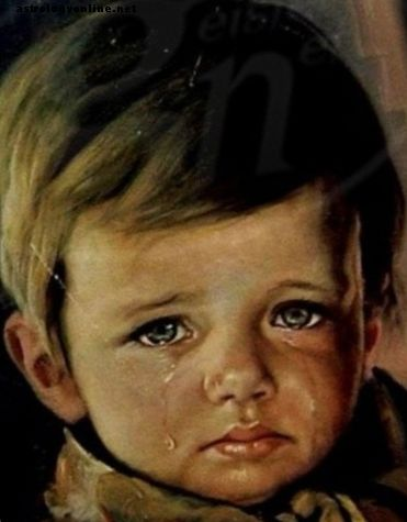 Curse of the Crying Boy Painting